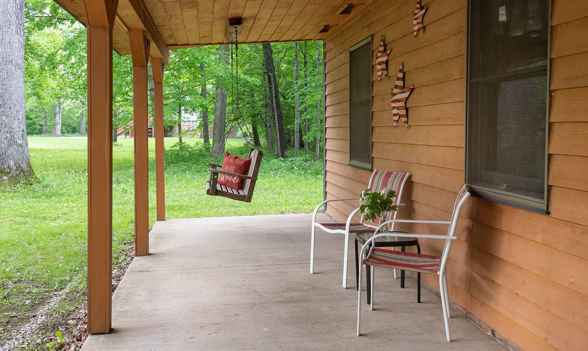 Americana Cabin near Buffalo Rock State Park