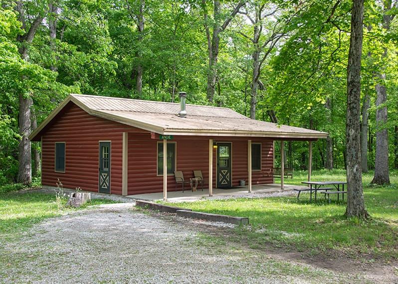 Apache Cabin exterior