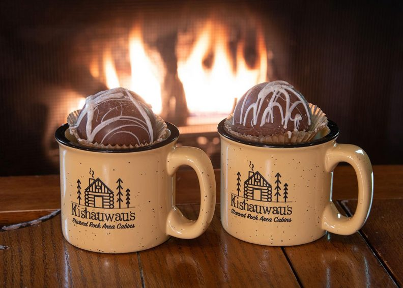 gourmet hot chocolate in Kishauwau Mugs