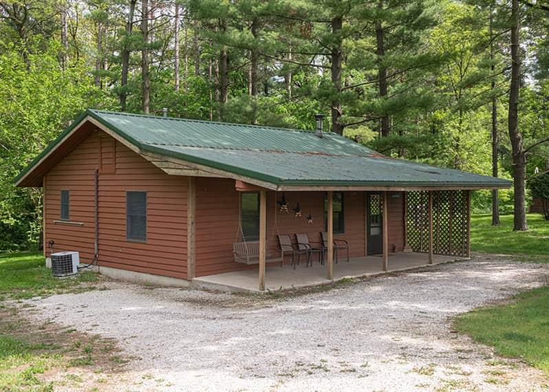 Commanche Cabin exterior