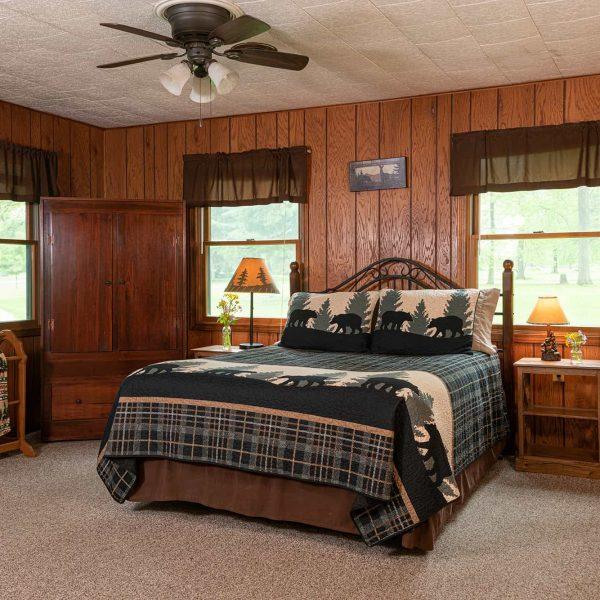 Bed in the Bridge Cabin