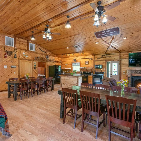 Grandma's Cabin Main Room