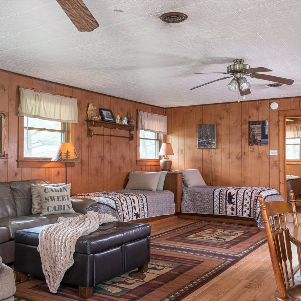 Trading Post Cabin Interior