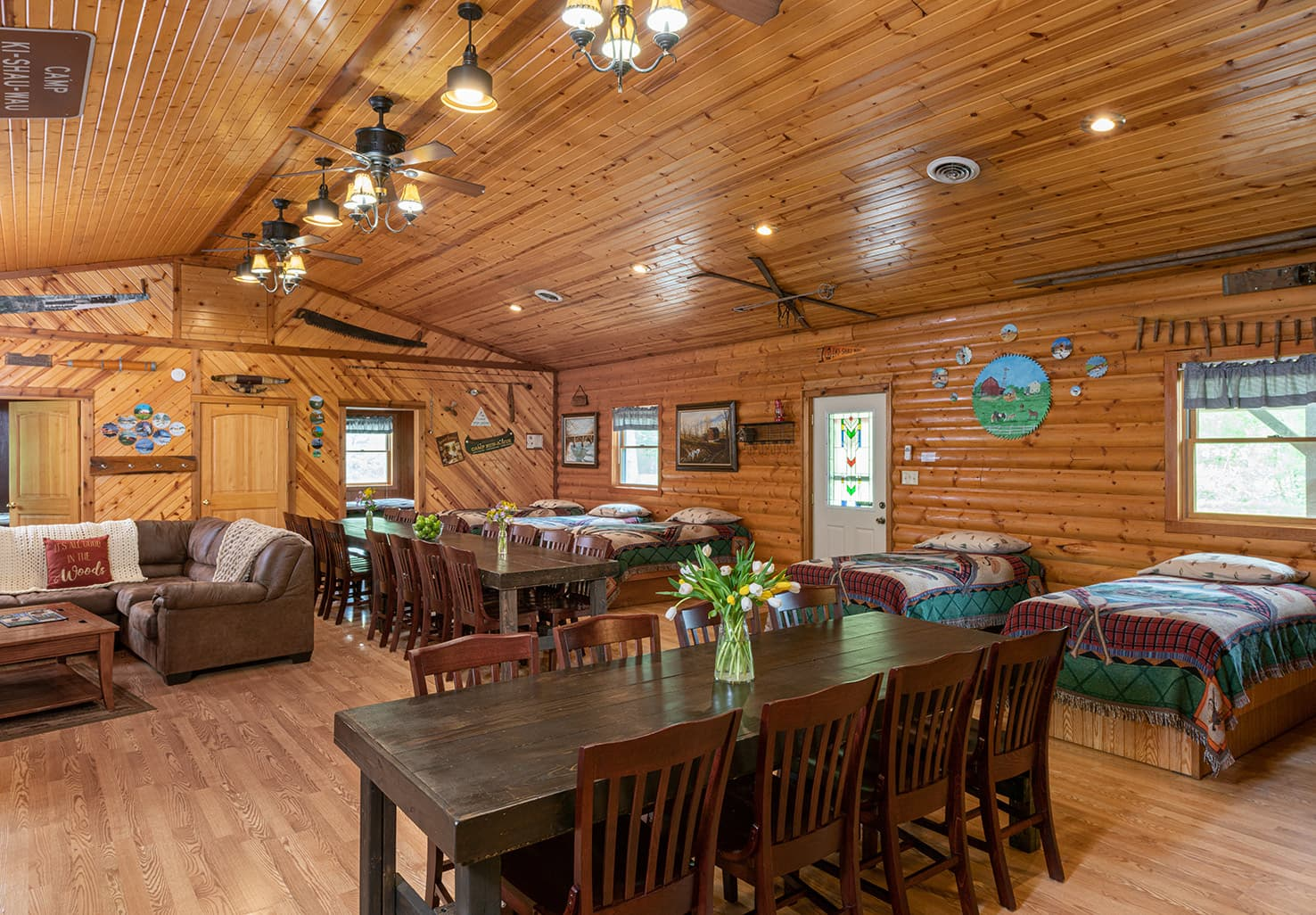 Grandma's Cabin, perfect for Illinois family reunions