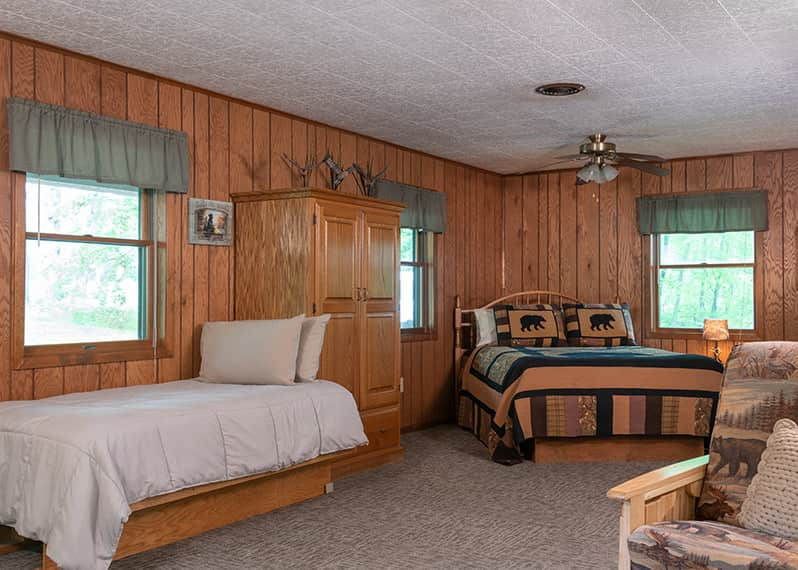 Hunters Cabin beds