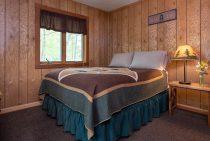 Illini Cabin bed - family cabin near Matthiessen State Park