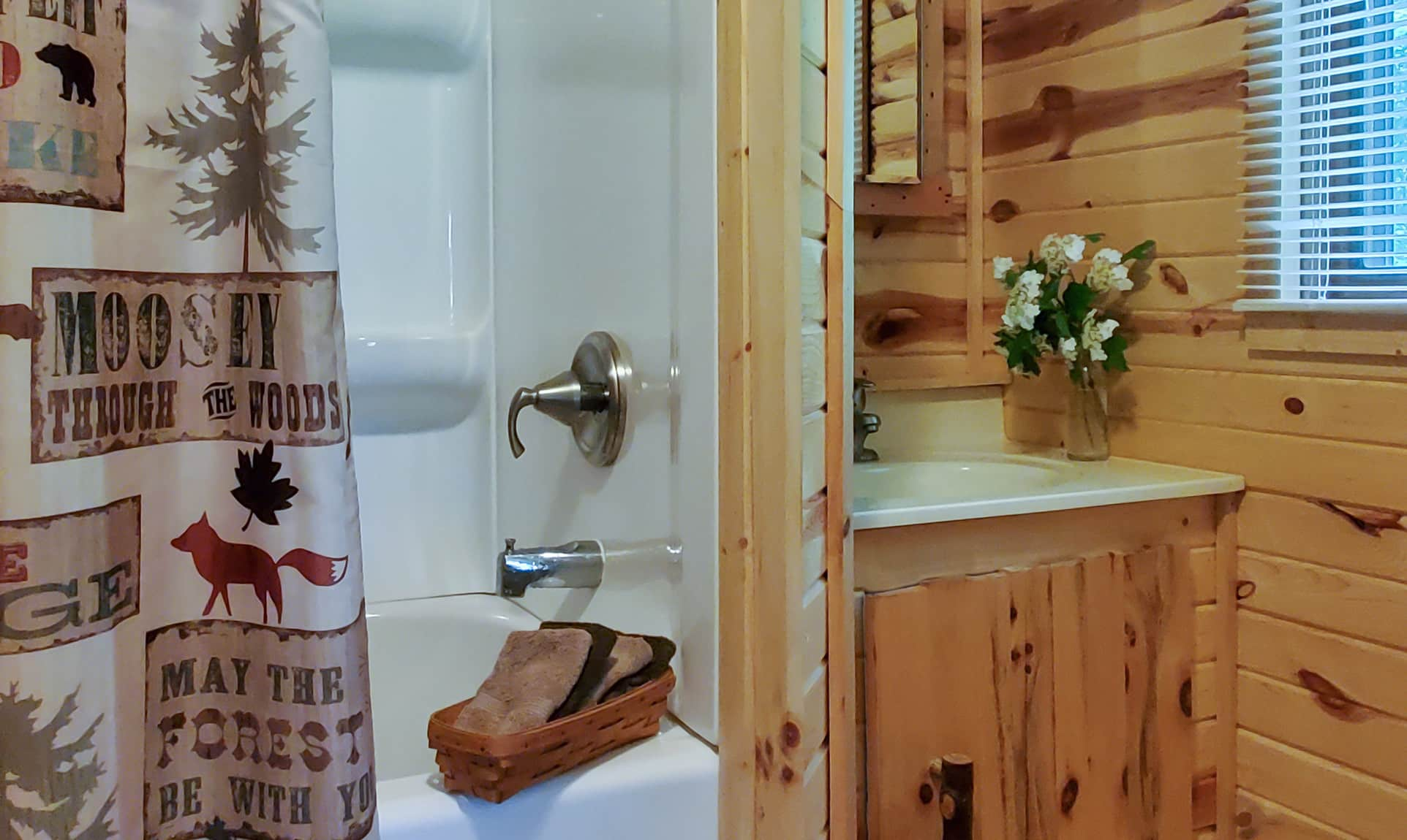 Mother-in-law Cabin bathroom