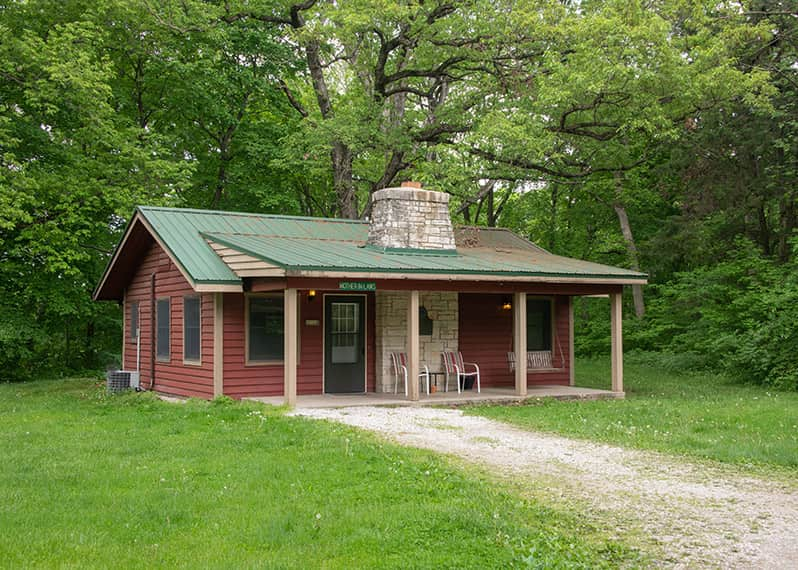 Mother-in-law Cabin exterior