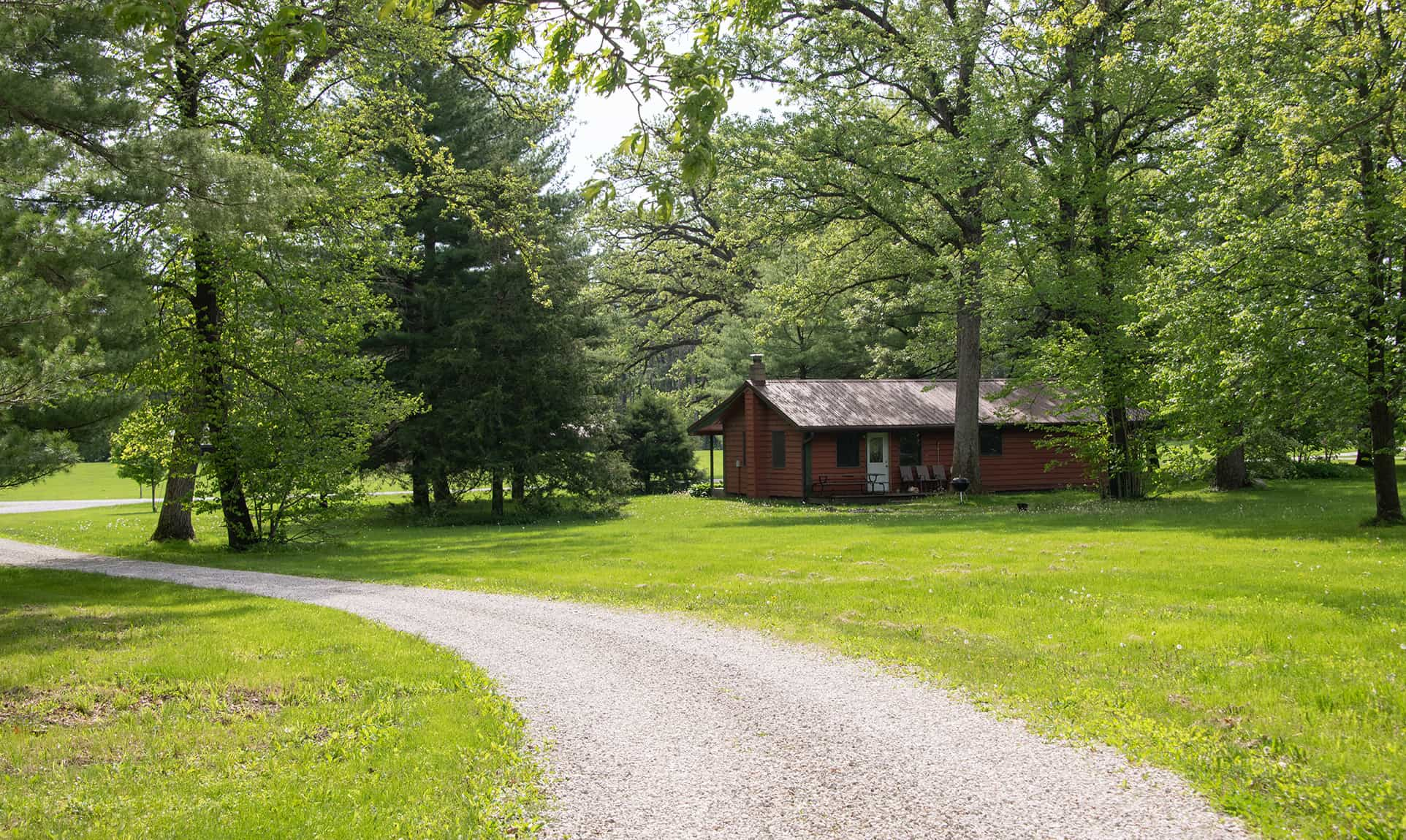 Trading Post Cabin - family friendly Starved Rock lodging