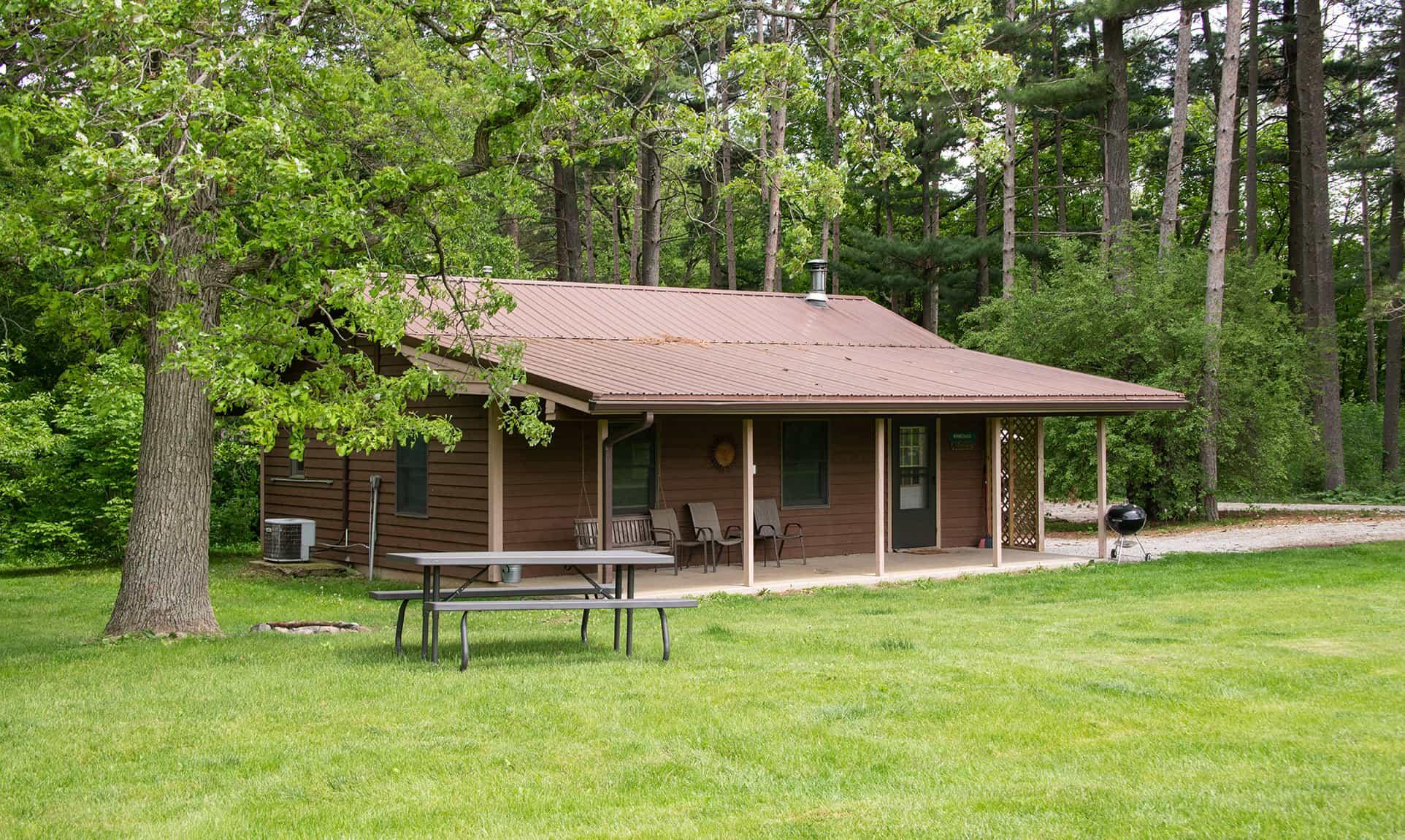 Winnebago Cabin exterior