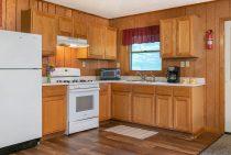 Zonta Cabin kitchen