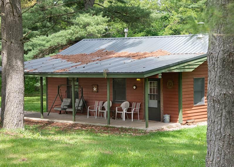 Zonta Cabin exterior